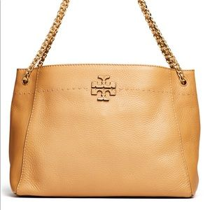 Tory burch slouchy mcgraw tote